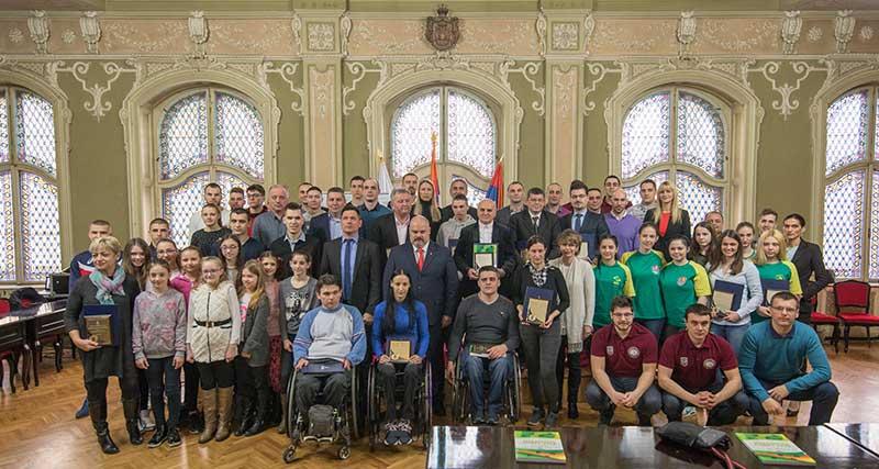 Priznanje NIS-u za doprinos u oblasti sporta