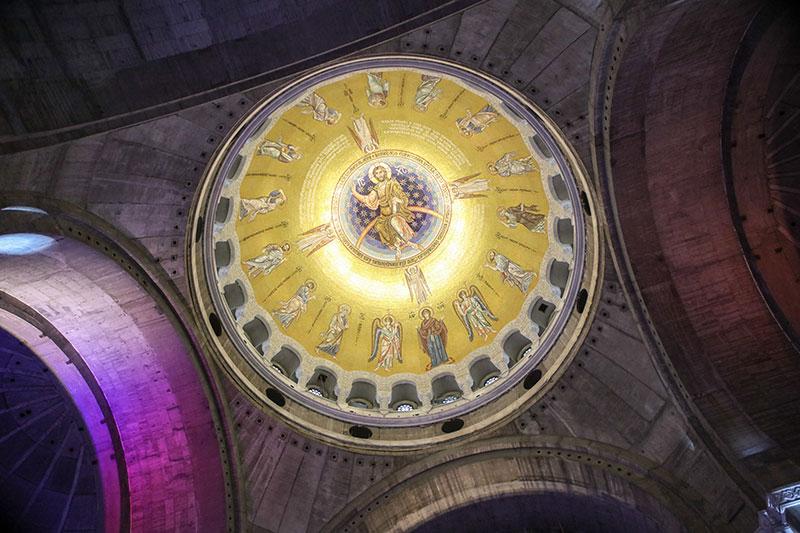 У Београду одржана церемонија отварања мозаичке декорације куполе храма Светог Саве