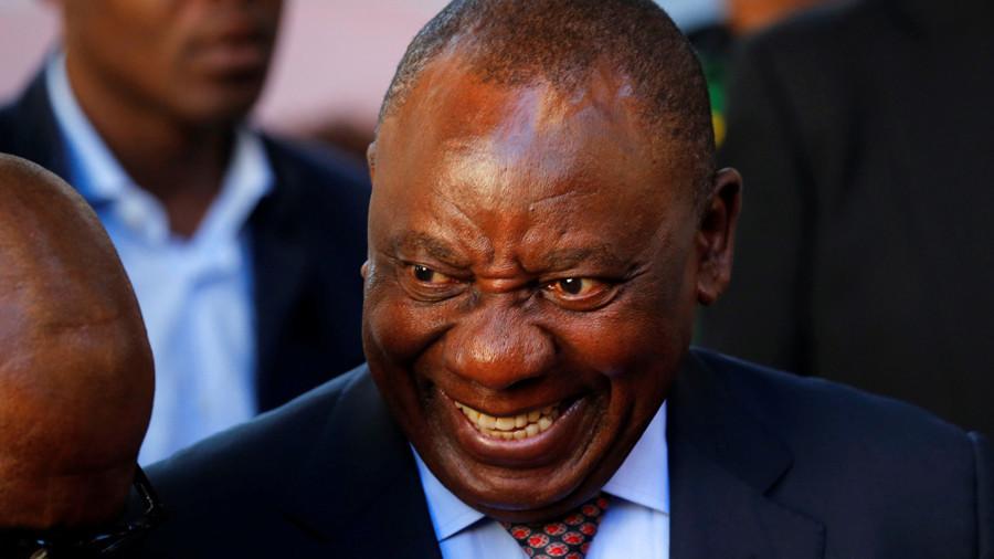 РТ: Нови председник Јужне Африке жели да од белаца одузме земљу