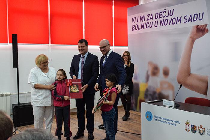 Донација НИС-а Институту за здравствену заштиту деце и омладине Војводине
