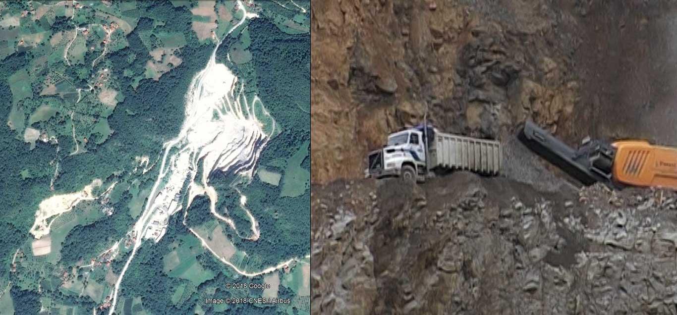 Ивањица: Каменолом планира проширење за девет хектара