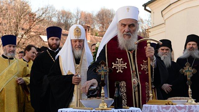 Patrijarh Irinej: Nadamo se da ćemo sve naše probleme rešavati uz pomoć Rusije