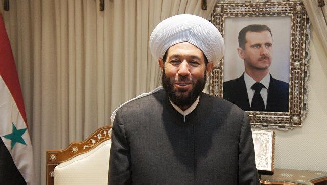 Vrhovni muftija Sirije pozvao da se odvoji religija od države