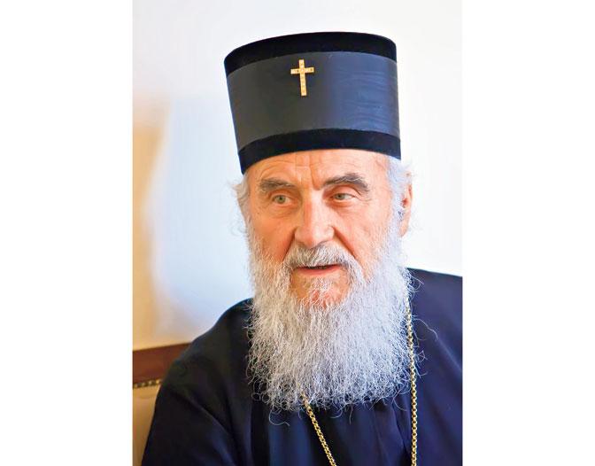 Патријарх Иринеј: Манастири на Косову нада нашег народа