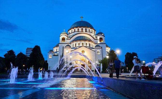 Zvona hrama Svetog Save oglasiće se na Dan primirja
