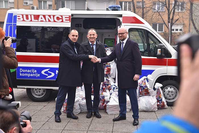 Донације НИС-а медицинским установама у Краљеву и Косовској Митровици