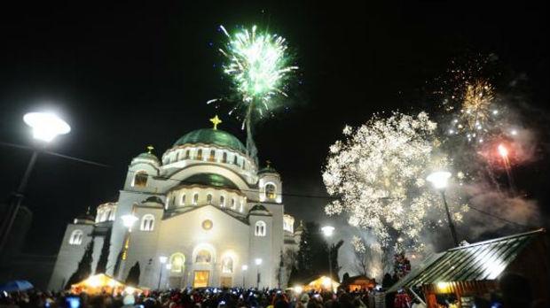 U Srbiji i Republici Srbskoj dočekana pravoslavna Nova godina