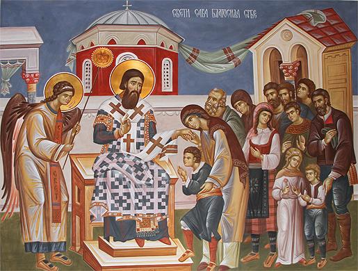 Данас је Свети Сава, школска слава