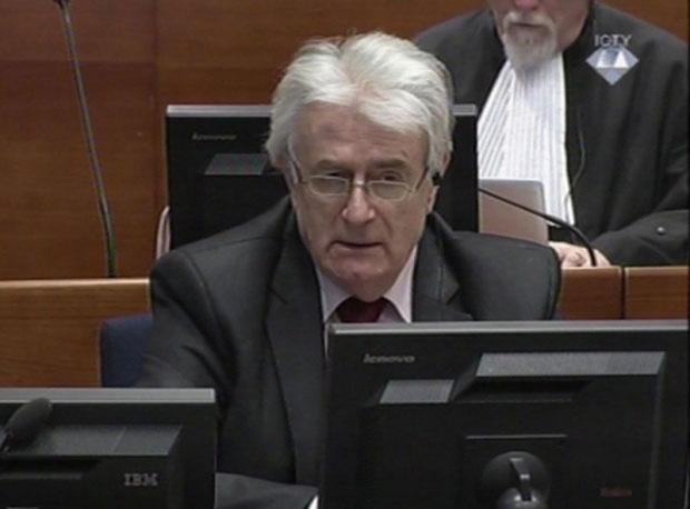 Другостепена пресуда Караџићу у среду
