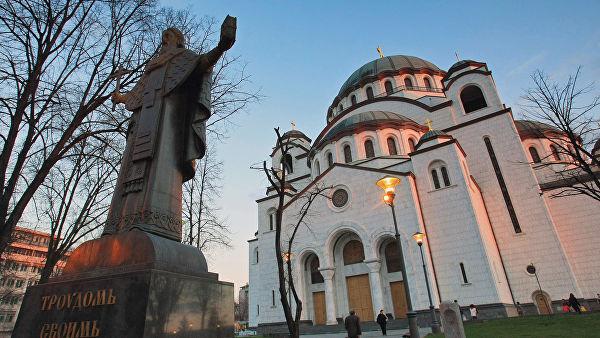 """""""Гаспром Њефт"""" наставља са финансирањем мозаика у Храму Светог Саве"""