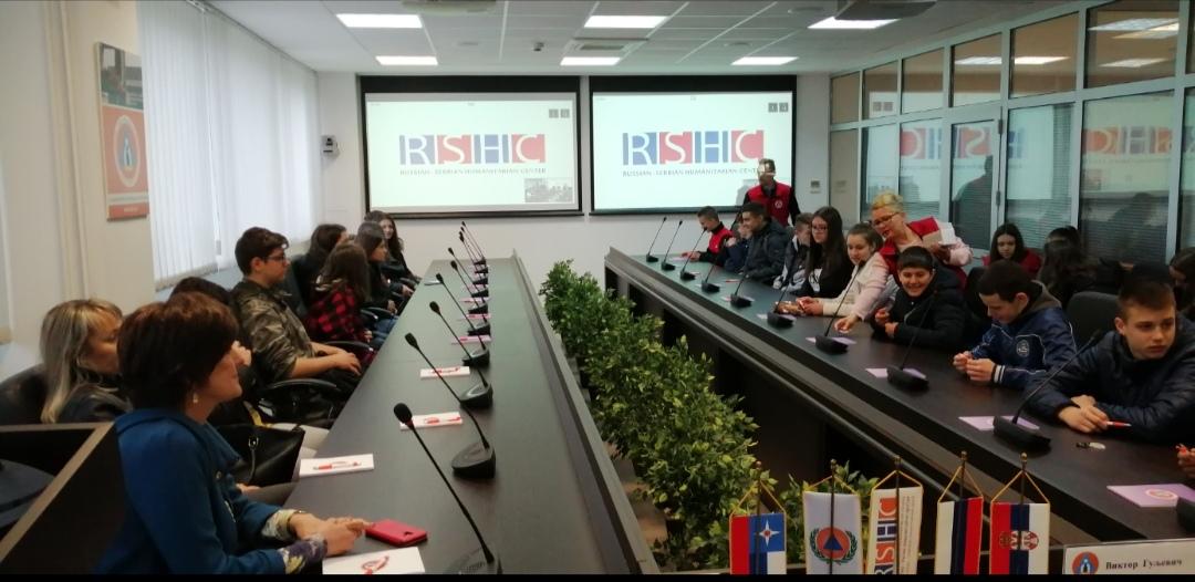 Ученици обишли Србско-руски хуманитарни центар у Нишу