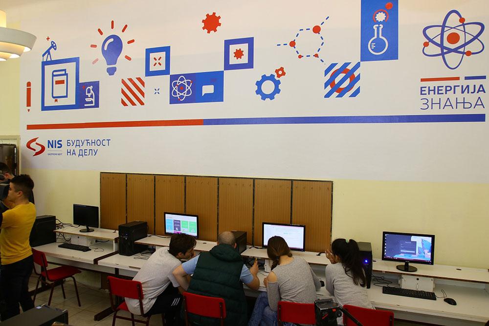 НИС обезбедио најсавременију ИТ опрему  у 20 школа у Зрењанину