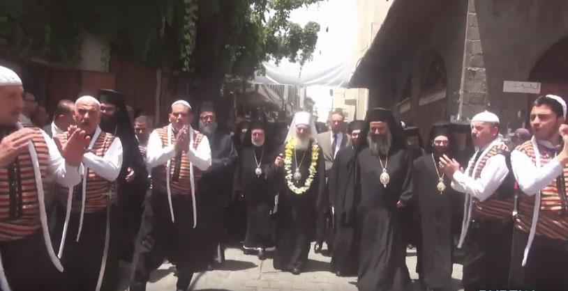Патријарх Иринеј у посети Сирији