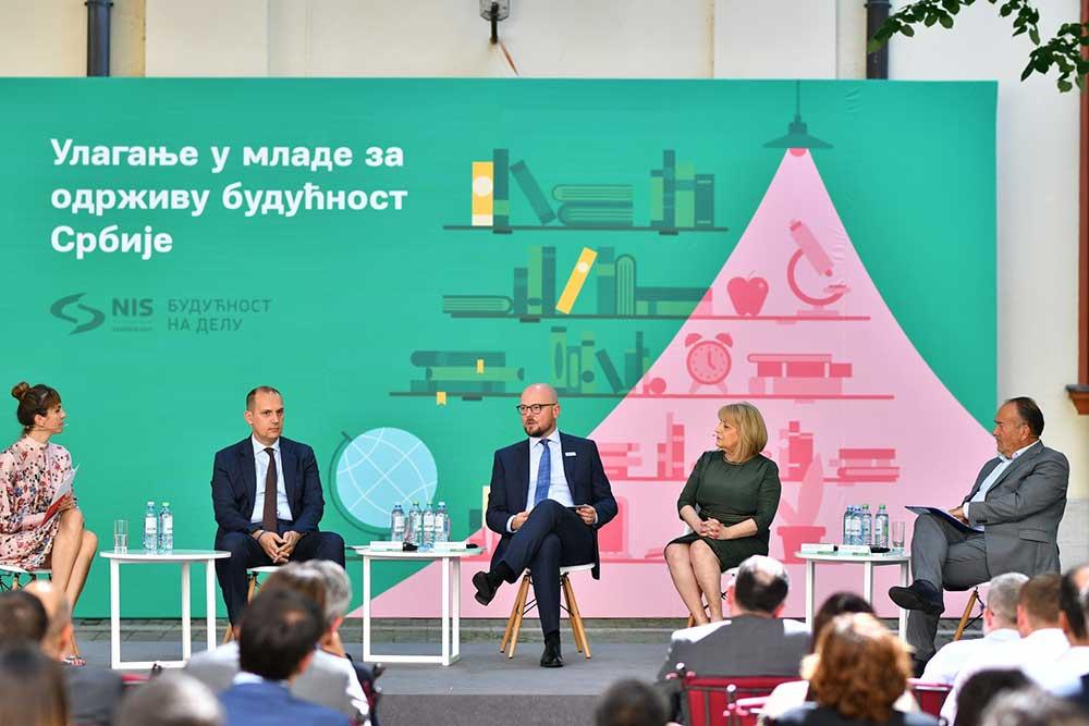 NIS predstavio Izveštaj o održivom razvoju za 2018. godinu: Ulaganja u mlade za održivu budućnost Srbije