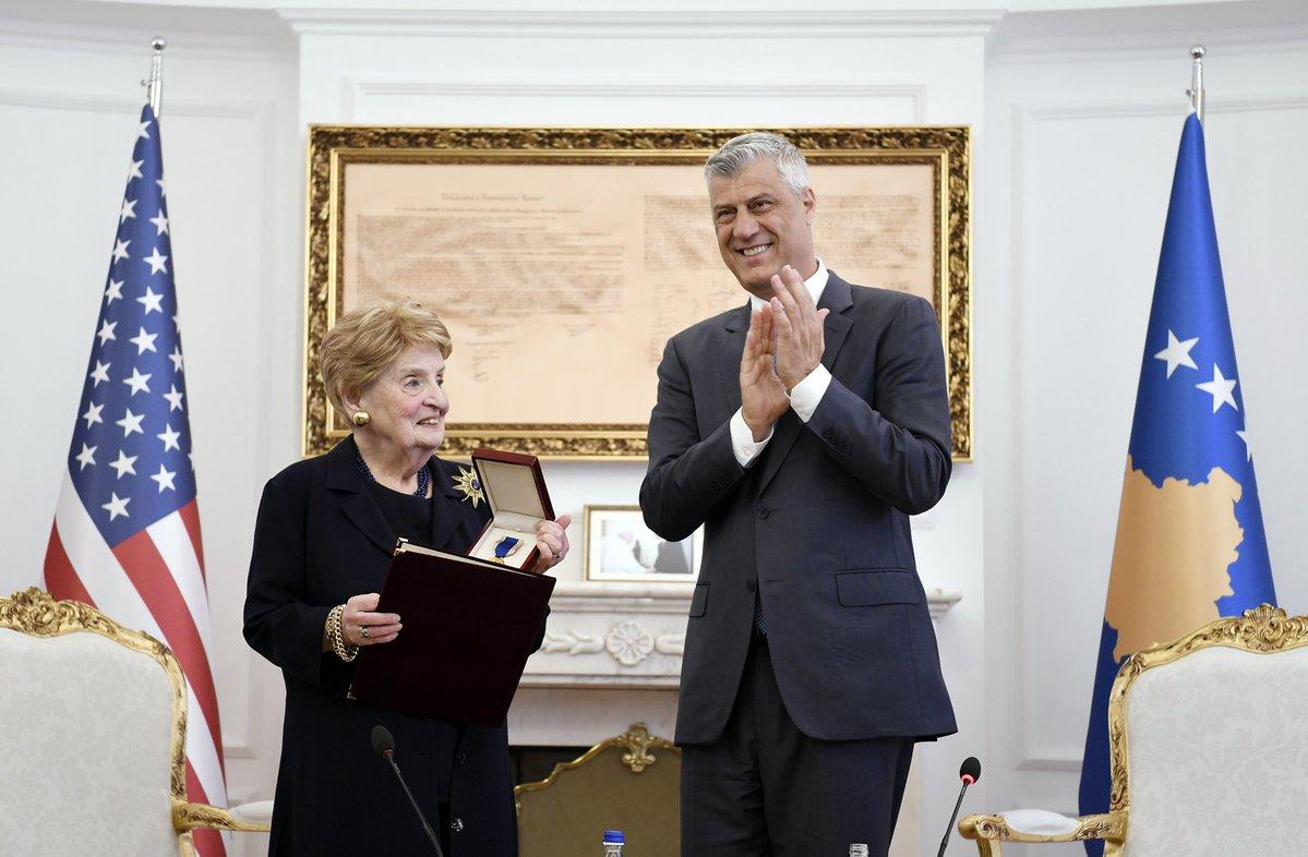Марко Кешељ o доласку Олбрајтове у Приштину: Горећеш у паклу зла бабо