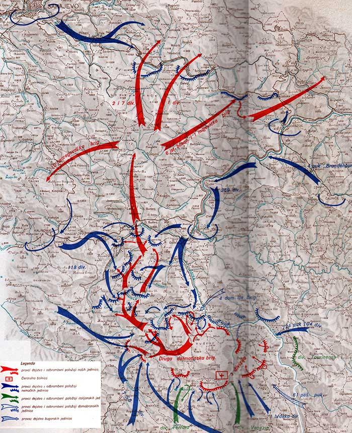Obeležena 76. godišnjica Bitke na Sutjesci
