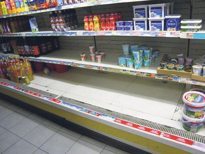 Све продавнице на северу Косова престају да раде од понедељка