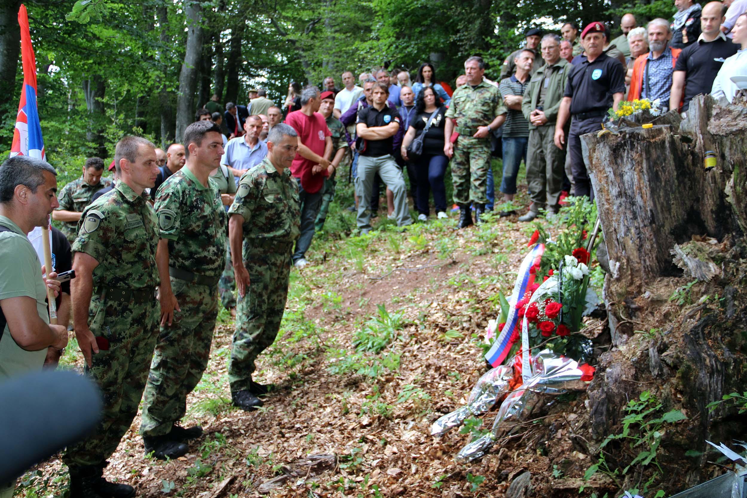 Одржан традиционални Видовдански скуп ветерана 63. падобранске бригаде