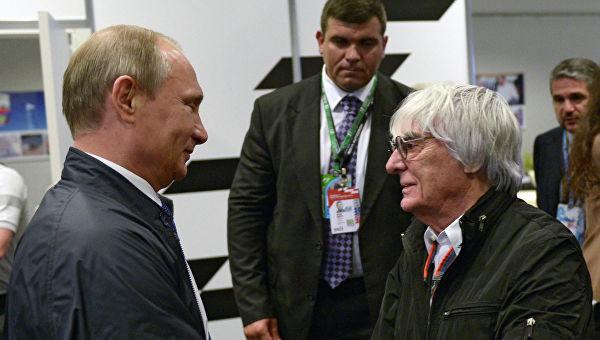 Еклстон: Путин ради то што говори и испуњава своја обећања