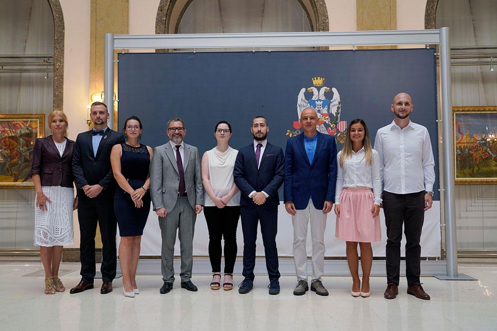 Градоначелник Београда угостио стипендисте НИС-а са престижних руских универзитета