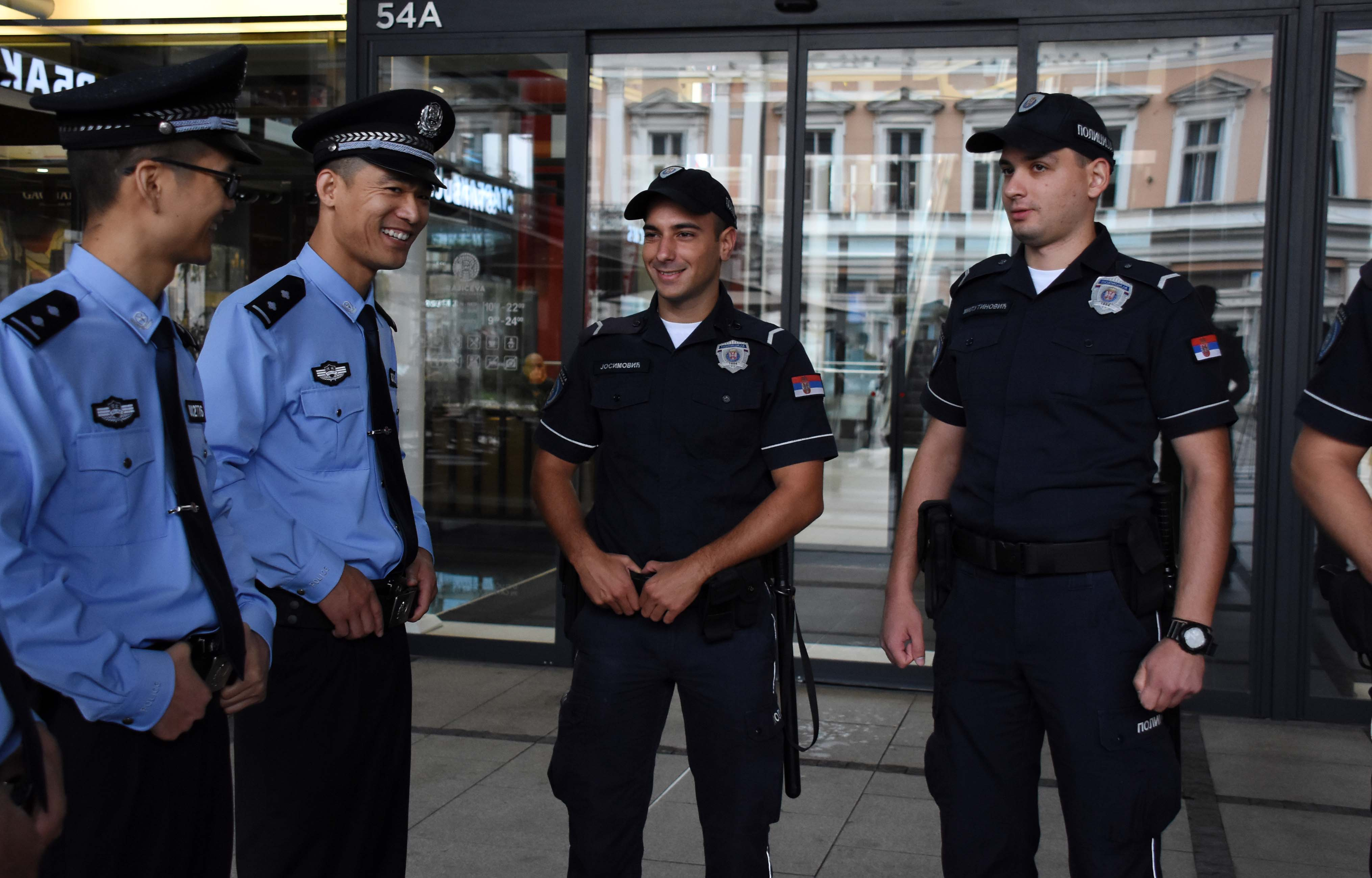 Заједничке патроле српске и кинеске полиције
