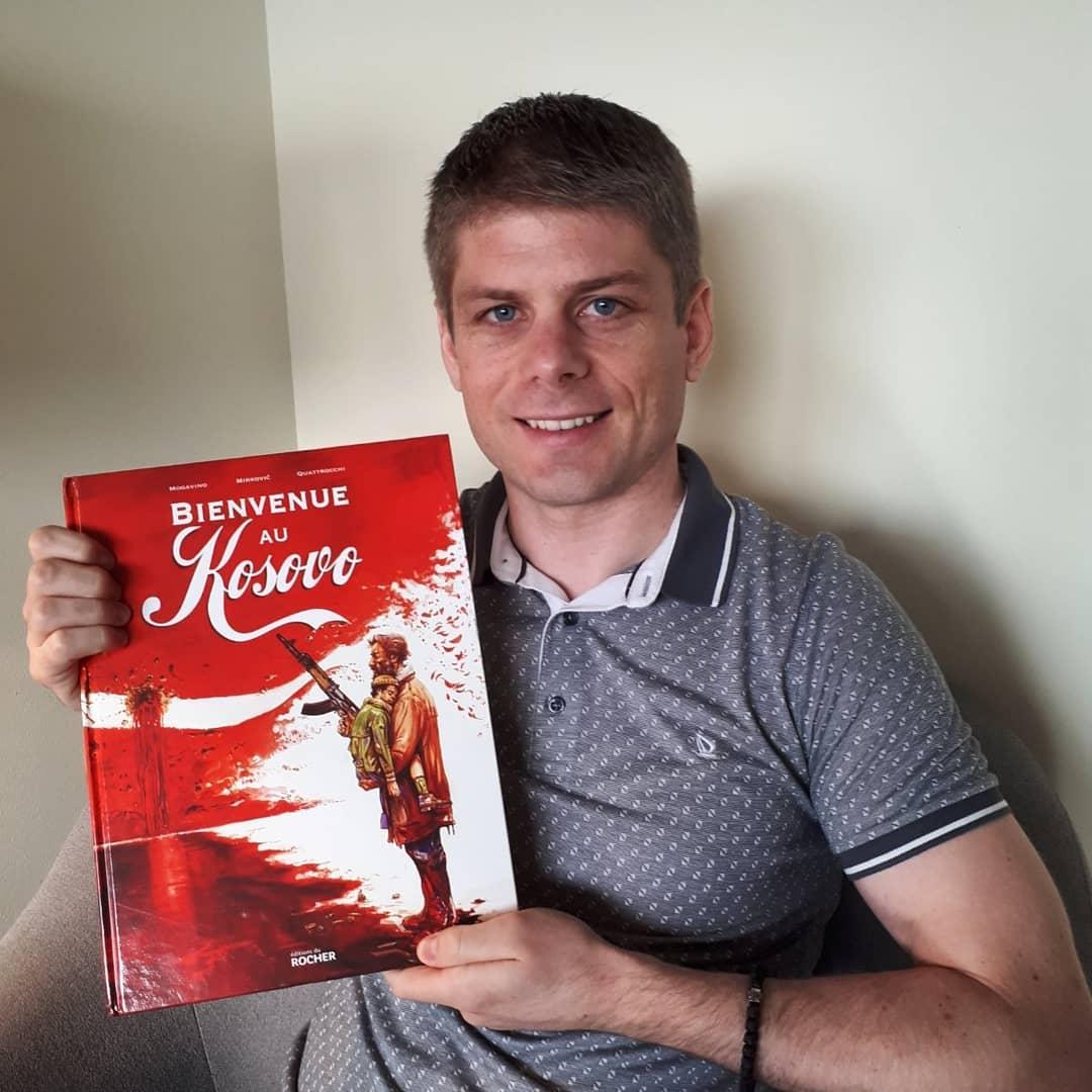 """Гујон: Стрип """"Добро дошли на Косово"""" се нашао међу најпродаванијим историјским стриповима у Француској"""