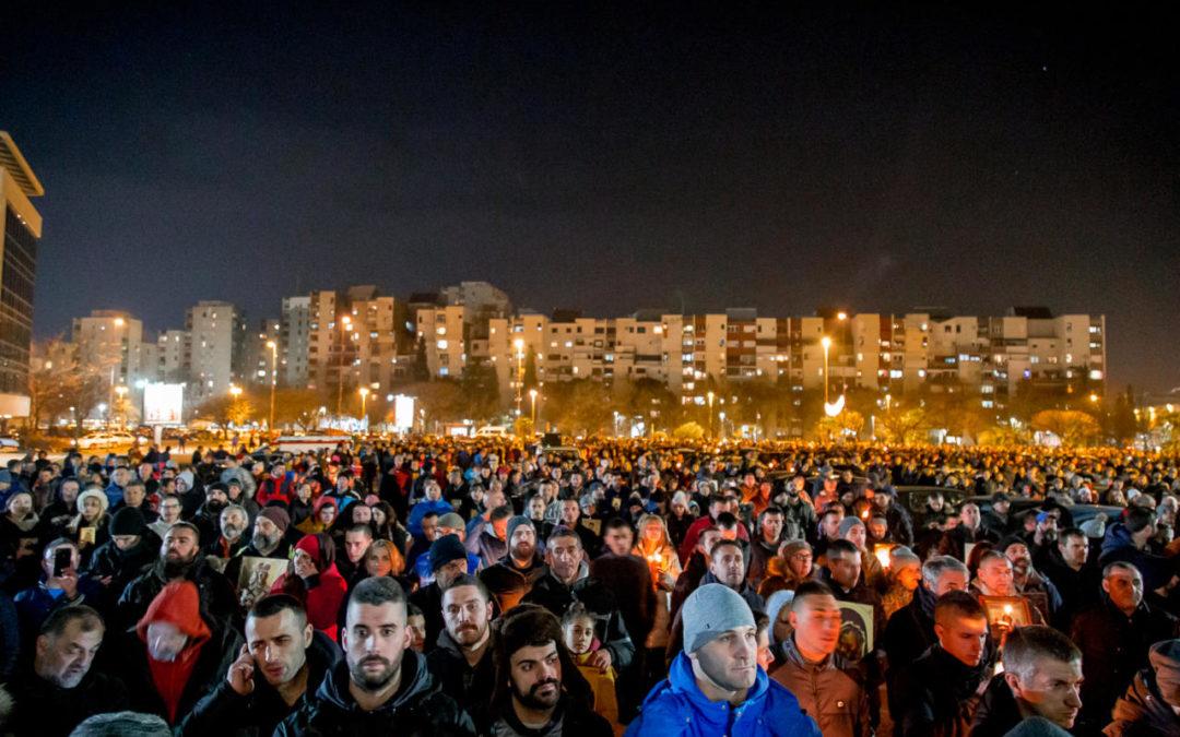 """""""SPC i njene eparhije u Crnoj Gori će svim raspoloživim zakonskim i pravnim sredstvima štititi verska prava i slobode"""""""