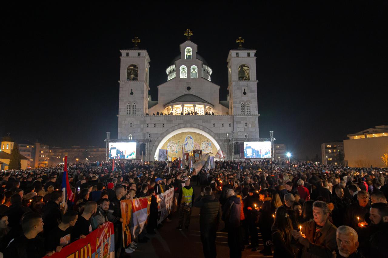 Mitropolit Ilarion: Vlasti Crne Gore su se okrenule protiv svog naroda i narod je izašao na ulice