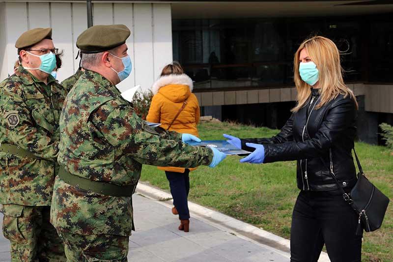Управа за војно здравство Министарства одбране јача за 95 припадника