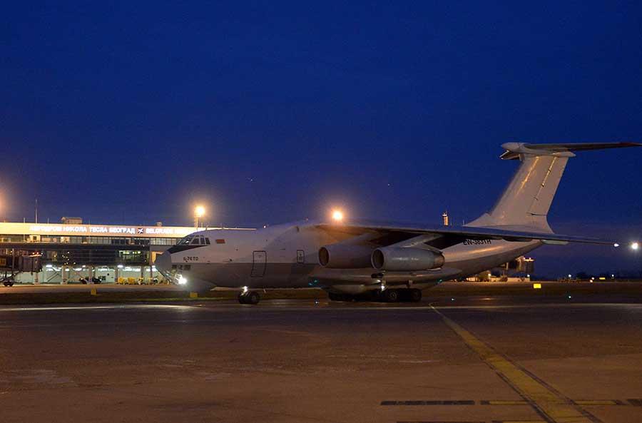 Стигао авион са новом помоћи из Народне Републике Кине