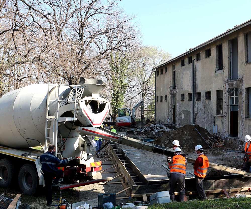 Почели радови на изградњи нове болнице за оболеле од Covid 19