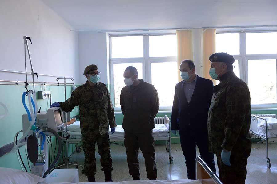 ВМЦ Карабурма спреман да прими пацијенте