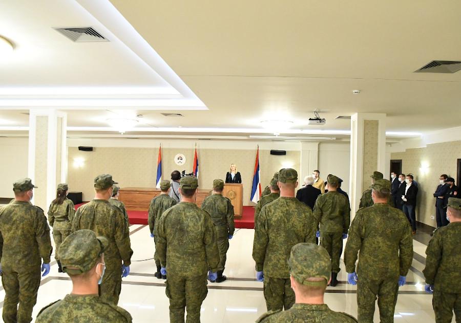 Oдликовање и захвалнице припадницима одреда Oружаних снага Руске Федерације