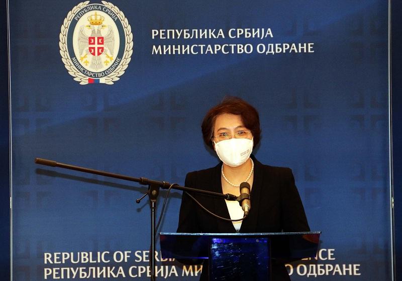"""""""Кина је спремна да и даље сарађује са Србијом и улаже напоре до заједничке победе"""""""