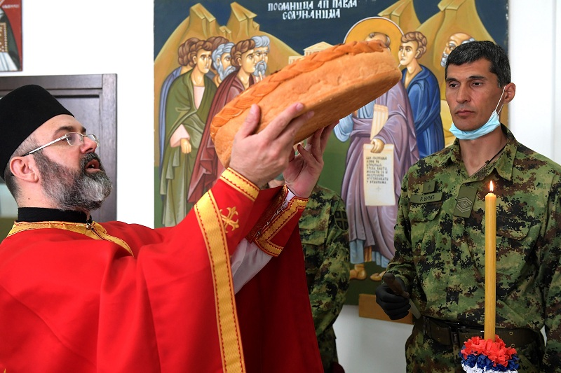 Генералштаб Војске Србије обележио крсну славу Ђурђевдан