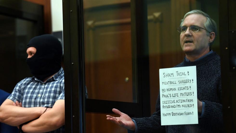 РТ: Руски суд прогласио бившег маринца САД-а Пол Вилан кривим за шпијунажу, осудивши га на 16 година затвора