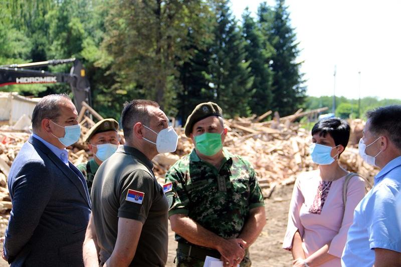 """Kovid bolnica će biti urađena u najkraćem mogućem roku u Vojnom kompleksu """"Zemun ekonomija"""""""