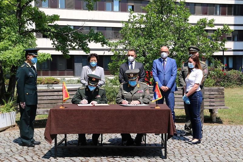 Donacija medicinske opreme iz NR Kine vojnom zdravstvu