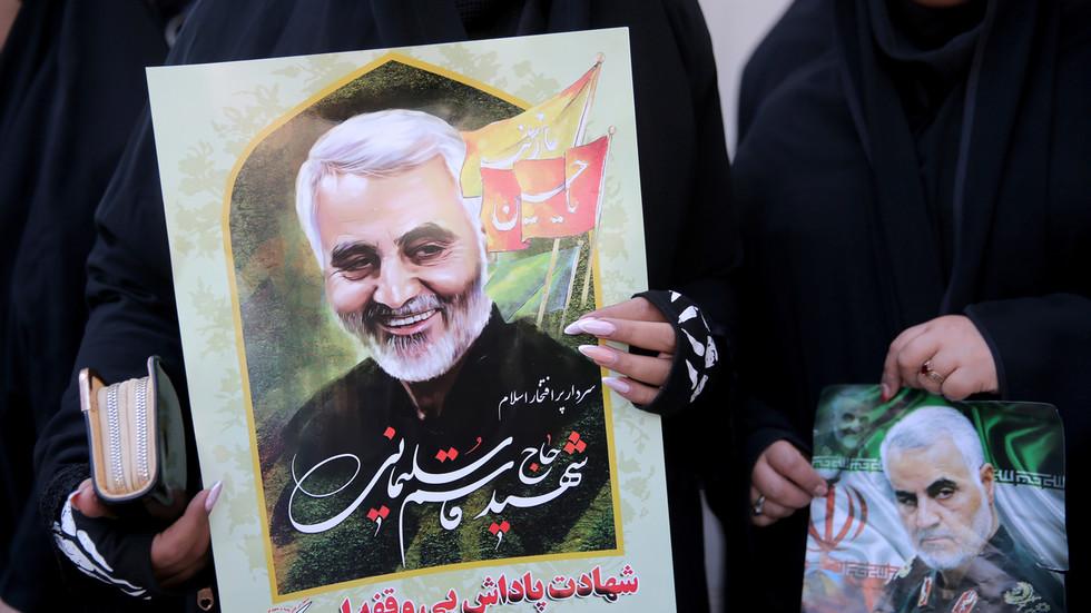 РТ: Иран погубио човека осуђеног за одавање локације генерала Сулејманија Цији