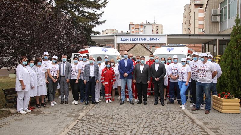 Donacija NIS-a Domu zdravlja u Čačku