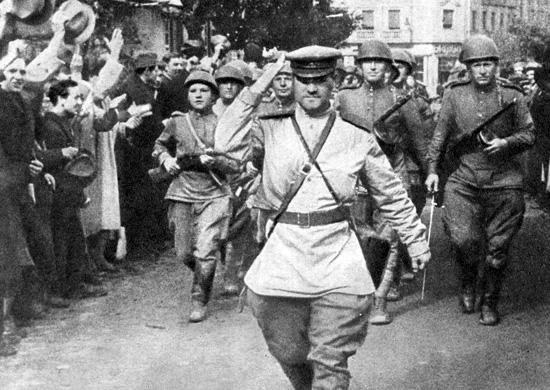 Обележавање 76. годишњице од ослобођења Београда у Другом светском рату