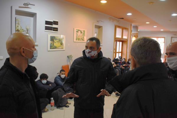 Zbog pojačanog priliva migranata Žandarmerija dežura u Šidu