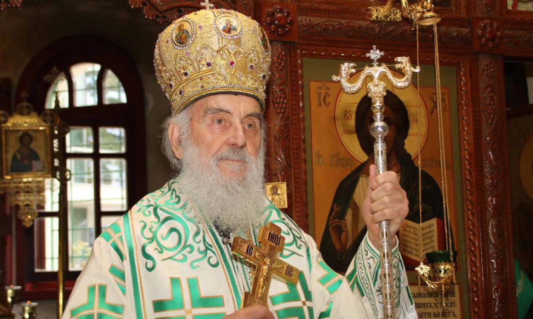 Pogoršano zdravstveno stanje patrijarha Irineja