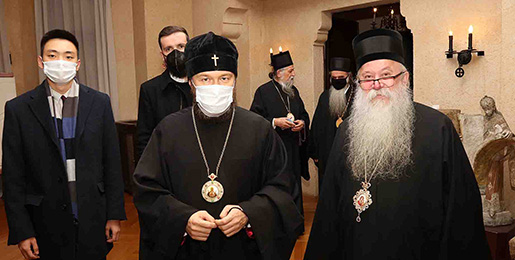 Митрополит волоколамски Иларион стигао у Београд