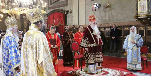 Молитвени испраћај патријарха Иринеја