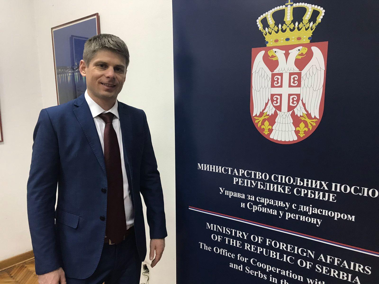 Гујон: Бити Србин било где у свету, а поготово на Балкану, где су Срби конститутивни народ, треба да буде понос, а не да се неко стиди свог порекла