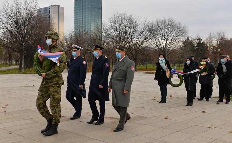 Polaganje venaca povodom Dana vojnih veterana