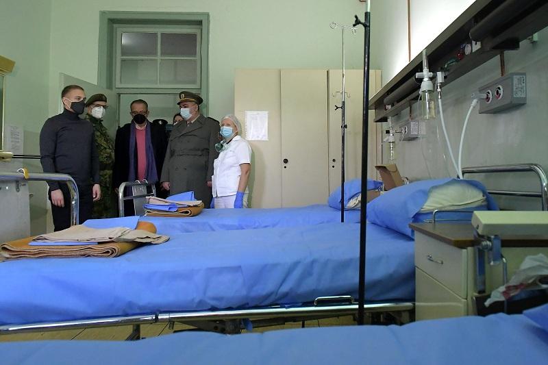 Војна болница Ниш од данас у Ковид систему