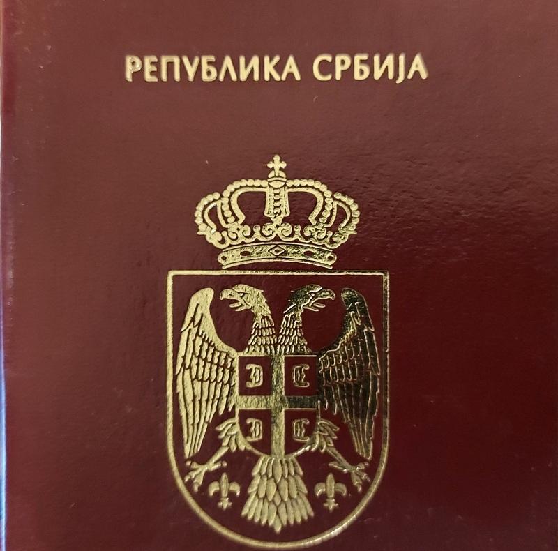 Srbski pasoš na 38. mestu
