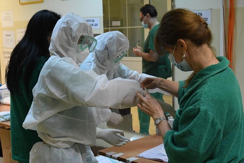 Vojno zdravstvo u borbi protiv virusa Kovid-19